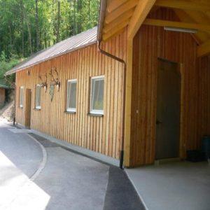 Der EU-Zertifizierte Schlachtbetrieb/Registrierte Wildkammer an der BJV-Landesjagdschule Standort Wunsiedel