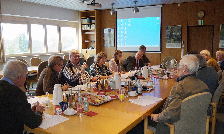 Ausschusssitzung - Foto: BJV
