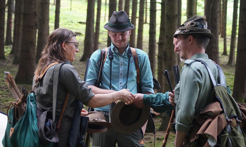 Bockjagd im Revier - Foto: Dr. Gertrud Helm/BJV