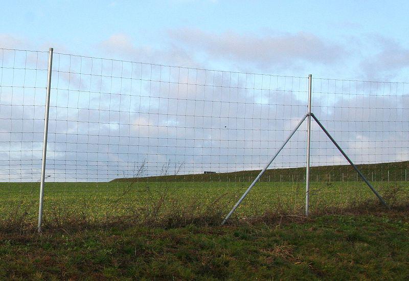 Windschutzzaun